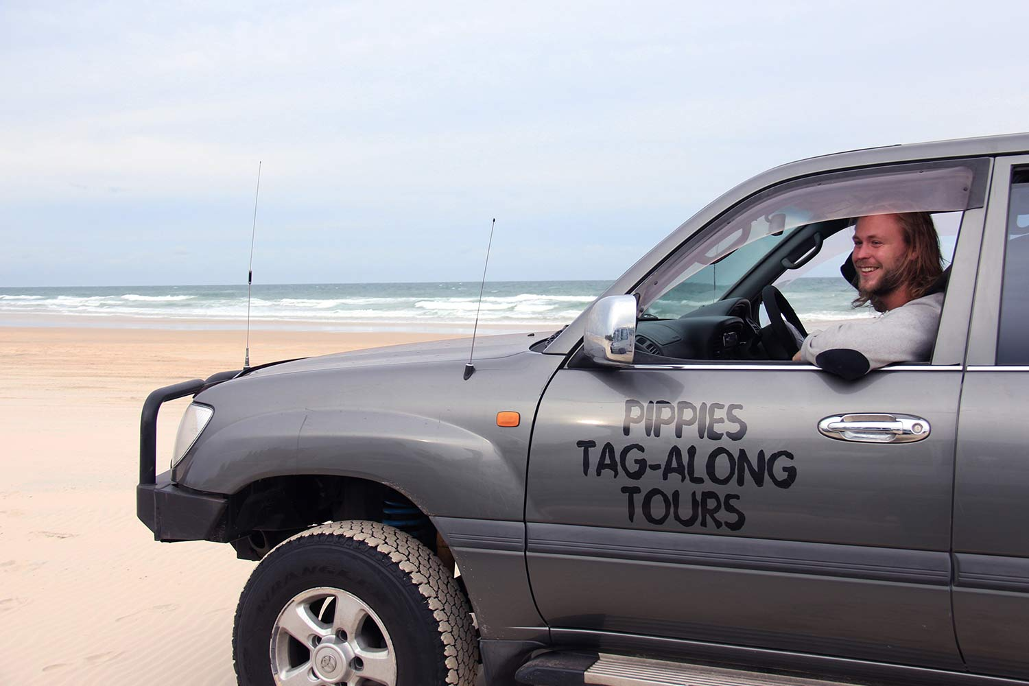 Fraser Island Tour Beach Driving 4wd