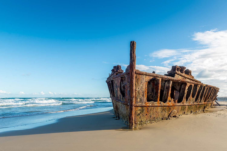 Fraser Island Tour Maheno Wreck